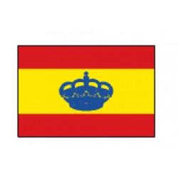 BANDERA ESPAÑA 30X45 C/CORONA