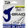 TRENZADO J-BRAID 0.19MM VERDE 135MT DAIWA