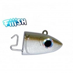 CABEZA OFFSHORE Nº2 10GR. (90) BLUE FIISH BLACK MINNOW