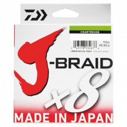 TRENZADO 0.10MM 300MT J BRAID 8 HEBRAS DAIWA
