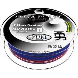 TRENZADO ULTRA PE LINE 0.28MM MULTICOLOR