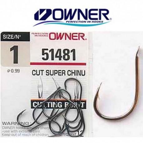 ANZUELO 51481 Nº1 CUT SUPER CHINU OWNER