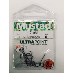 ANZUELO CRYSTAL 52002NP-BN MUSTAD